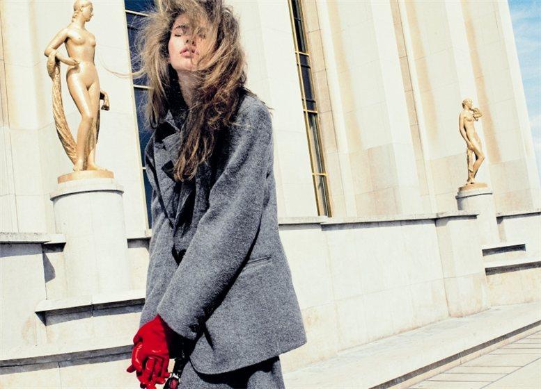 модель Taryn Davidson / Тарин Дэвидсон, фотограф Txema Yeste