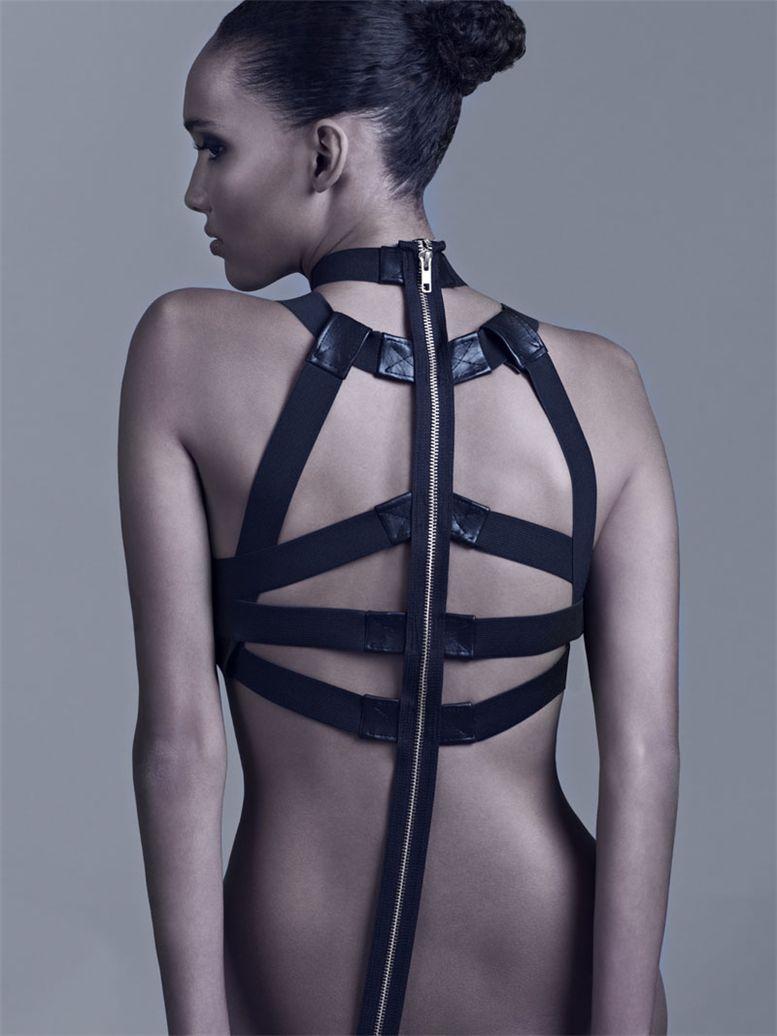 модель Cora Emmanuel / Кора Эммануел, фотограф Sinsong