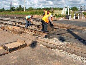 Сегодня вечером на ж/д переезде по Военному шоссе начнутся ремонтные работы
