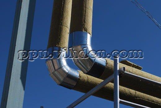 термоизоляция трубопроводов холодной и горячей воды