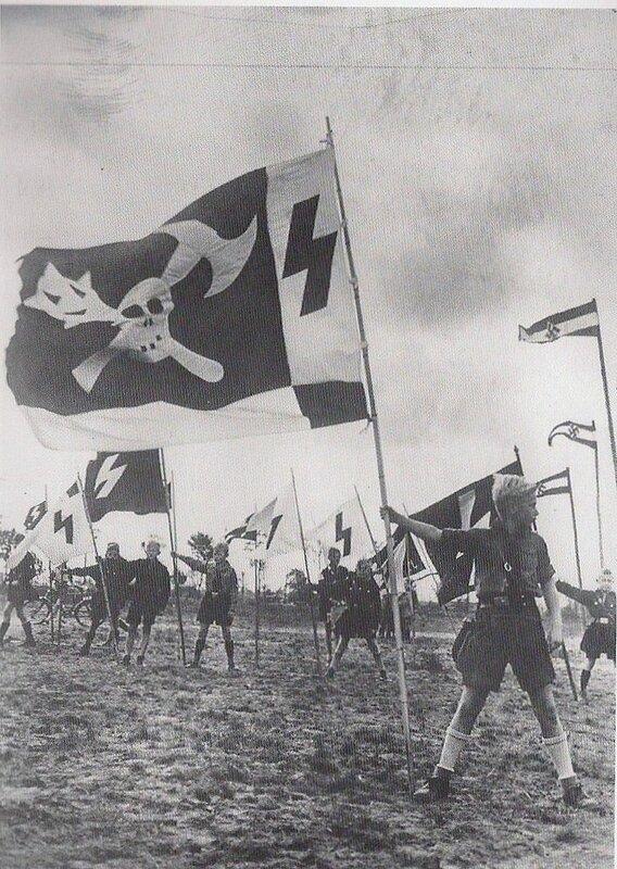 винтажные фото.Детский лагерь нацистов,1940г