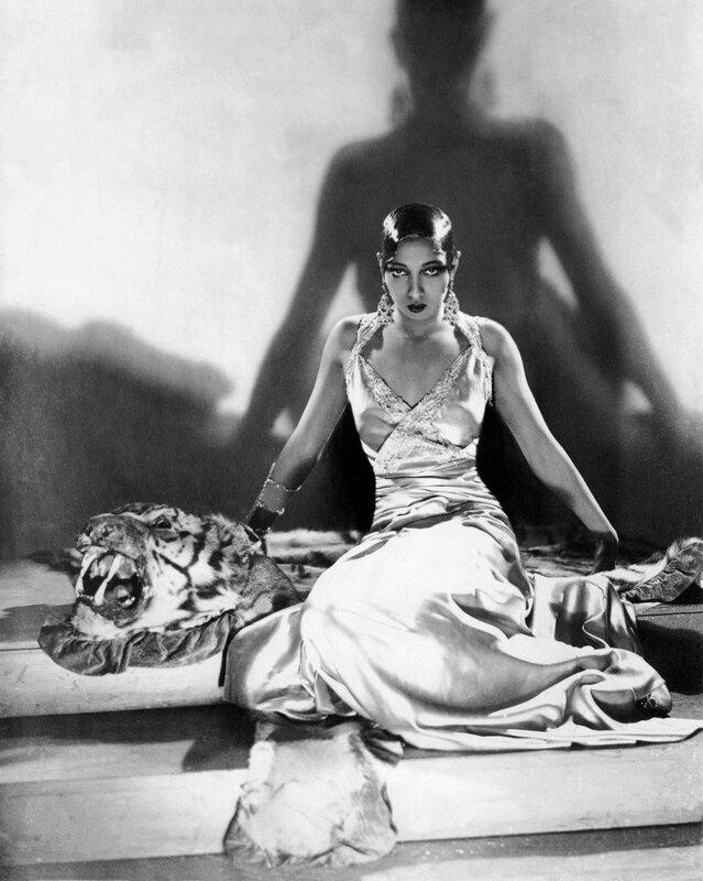 Знаменитости и животные. Josephine Baker