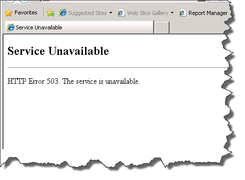 Ошибка 503 Service Unavailable в Blogger