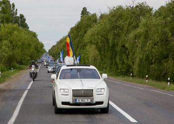 Партия Ренато Усатого отметила День Победы масштабным автопробегом