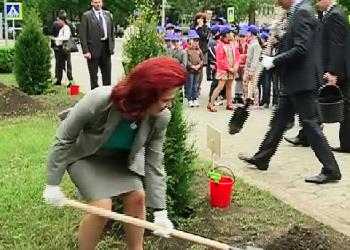 Спикеры шести стран посадили деревья в Кишиневе