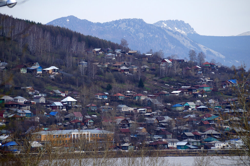 Виды города Златоуста