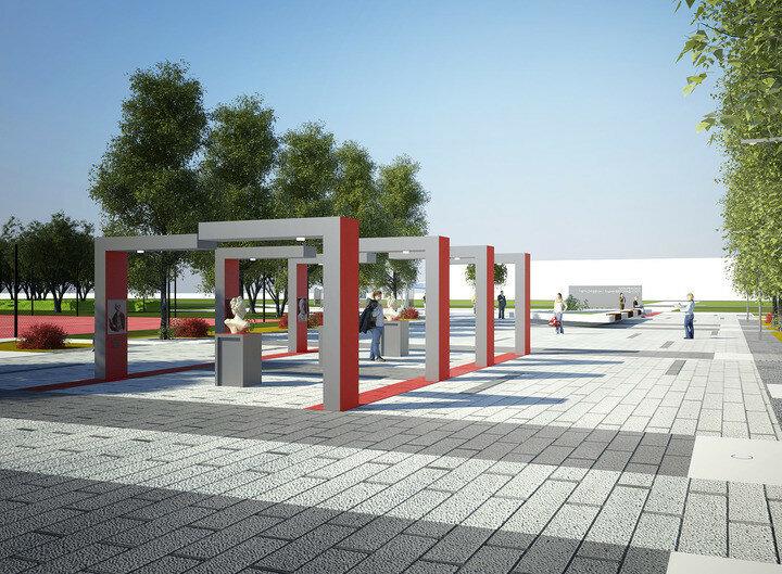 Проект Аллеи Славы Самарской Науки