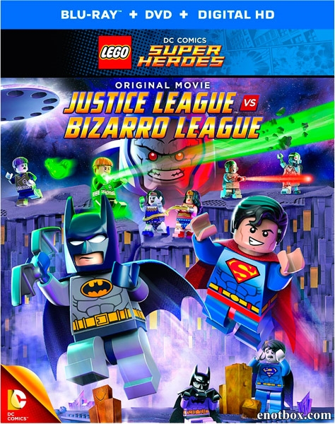 LEGO супергерои DC: Лига справедливости против Лиги Бизарро / Lego DC Comics Super Heroes: Justice League vs. Bizarro League (2015/BDRip/HDRip)