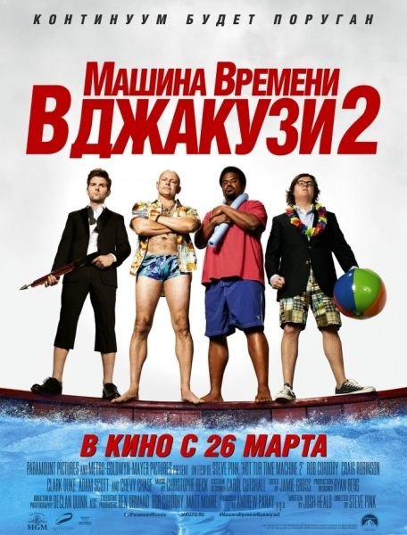 ������ ������� � ������� 2 / Hot Tub Time Machine 2 [UNRATED] (2015/WEB-DL/WEB-DLRip)