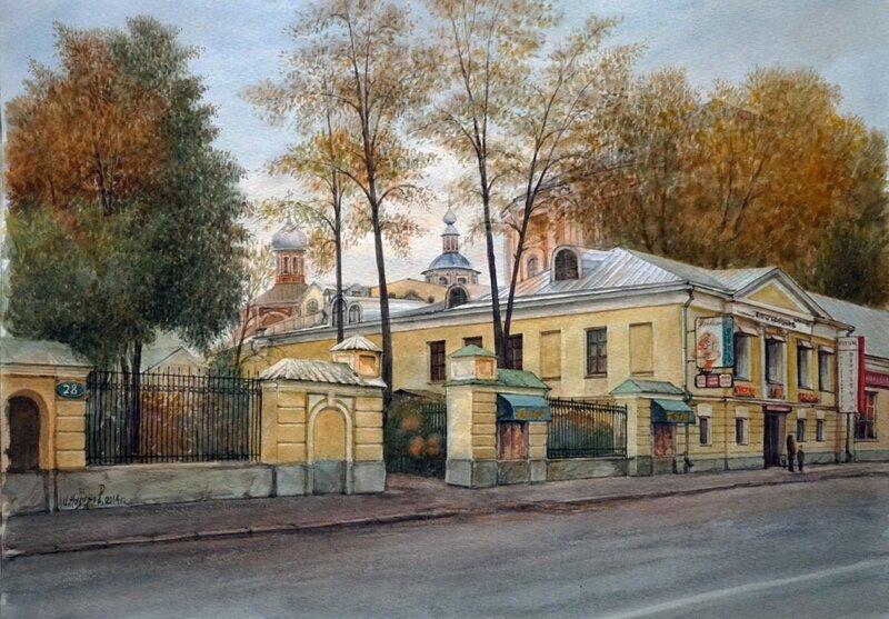 Иван Назаров. На ул. Покровка. Москва. 2014