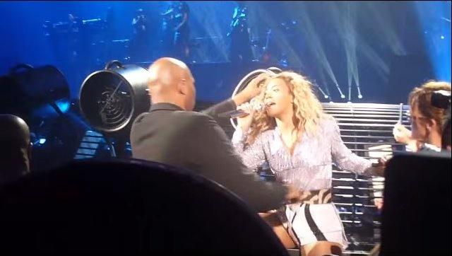 «Атака вентилятора» на концерте Бейонсе
