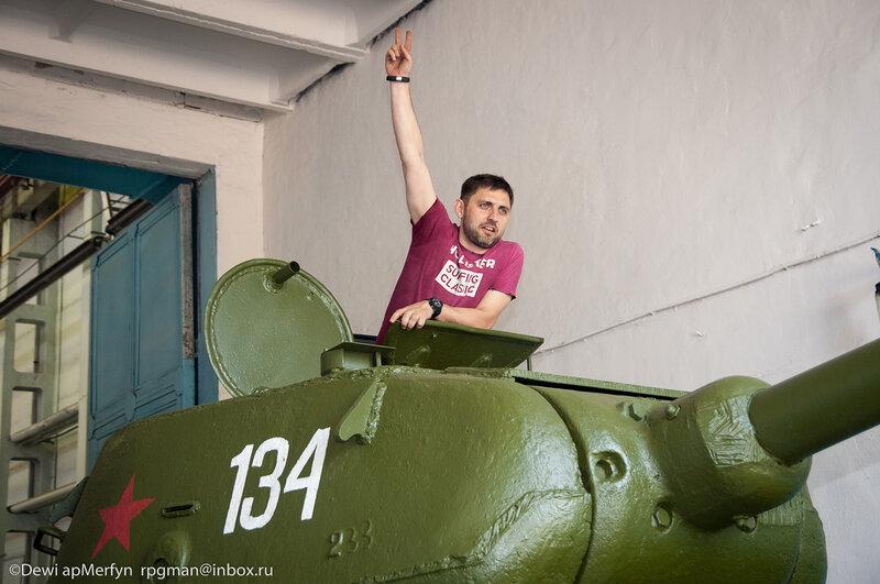 Рустам на Т-34