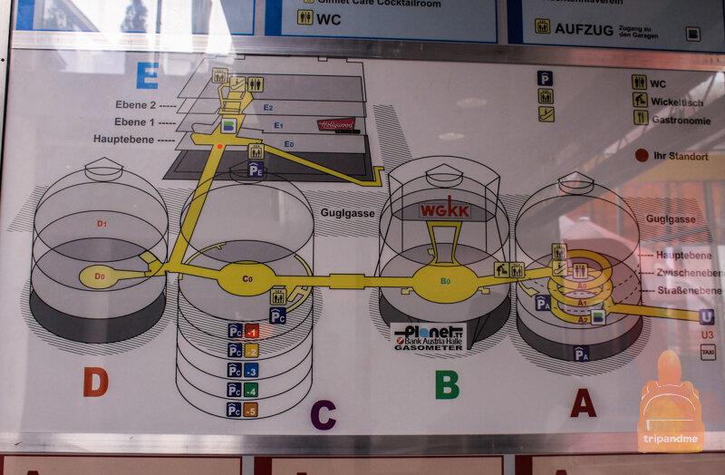 Схема Венских газометров