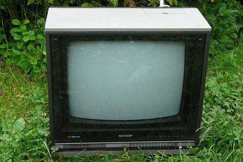 телевизора 80-ых Sharp