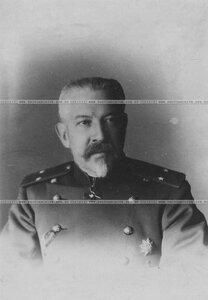Генерал-майор бригады в сюртуке (портрет).