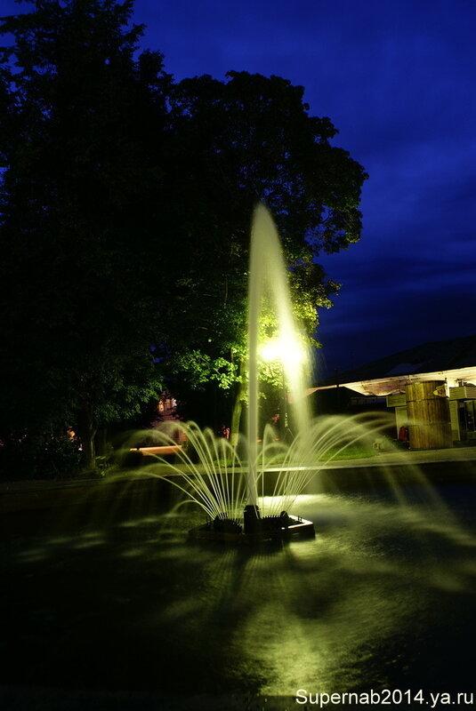 Вышний Волочёк ночью