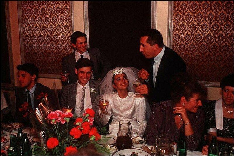 Одесса. Тост за молодую семью. 1988 год.