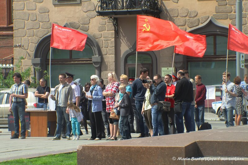 В поддержку Юго-Востока Украины, Саратов, 11 мая 2014 года