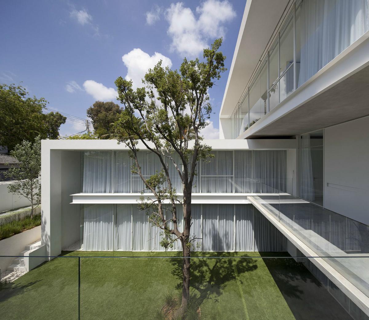 Pitsou kedem architect дома в израиле особняк в