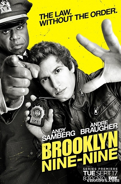 Бруклин 9-9 / Brooklyn Nine-Nine - Полный 1 сезон [2013-2014, WEB-DLRip, WEB-DL 720p] (NewStudio)