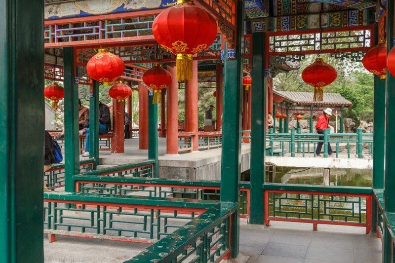 Галерея на воде, парк Дагуаньюань, Пекин