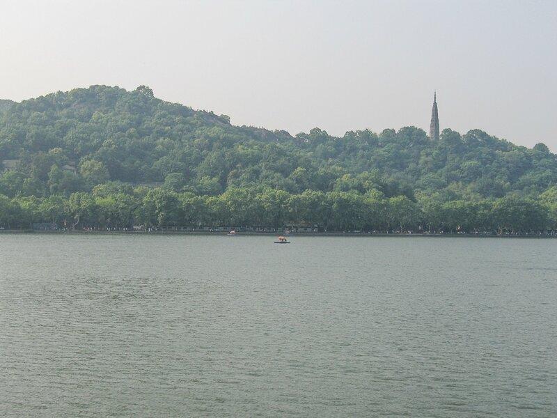 Гора Баоши и пагода Баочу, Ханчжоу