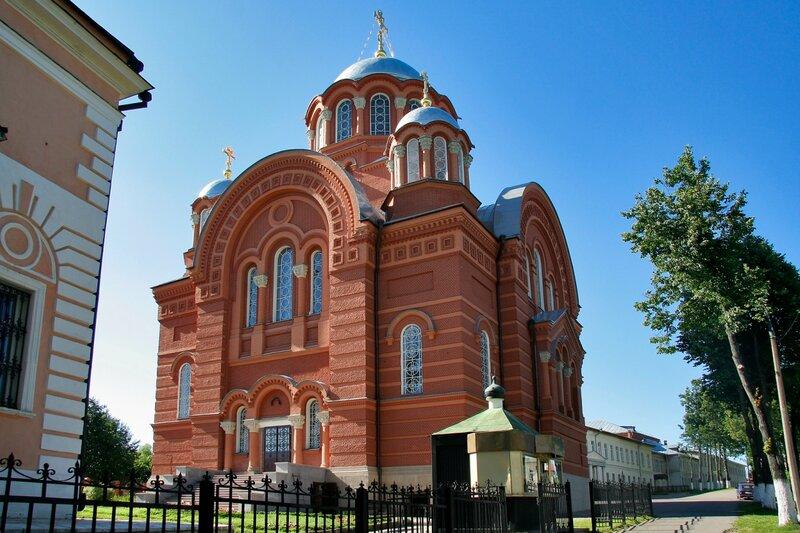 Покровский Хотьков монастырь. Собор Николая Чудотворца, 1900-1904