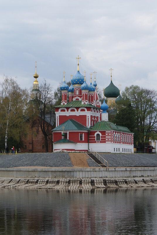 Церковь царевича Дмитрия на крови