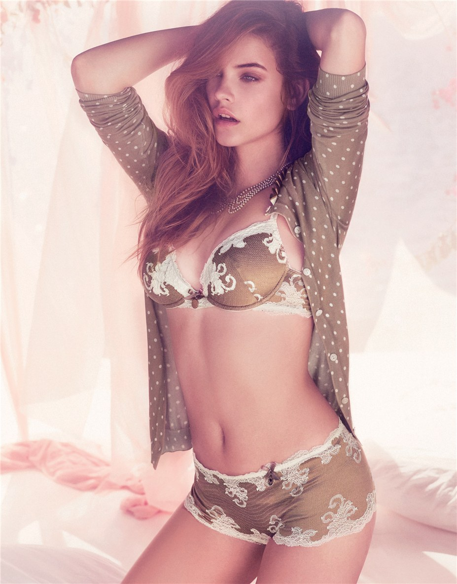 Барбара Палвин / Barbara Palvin for Twin-Set Lingerie Spring/Summer 2014