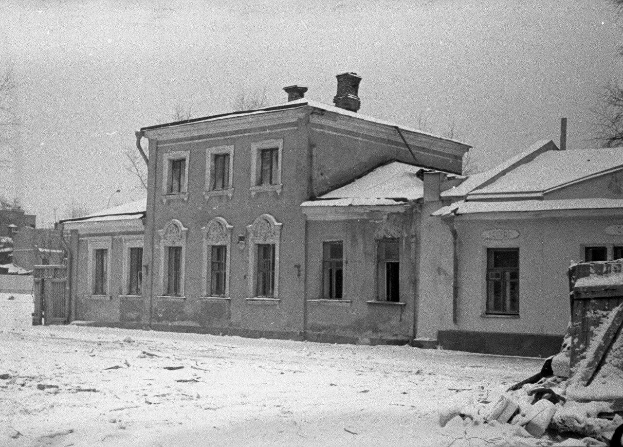 1962. Кудринский переулок
