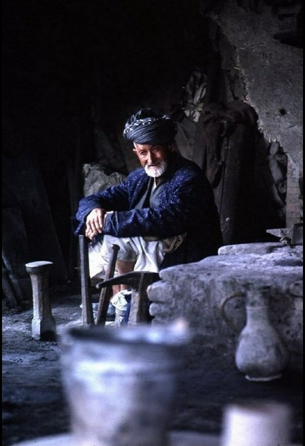 Узбекистан. Кузнец в селе возле Бухары