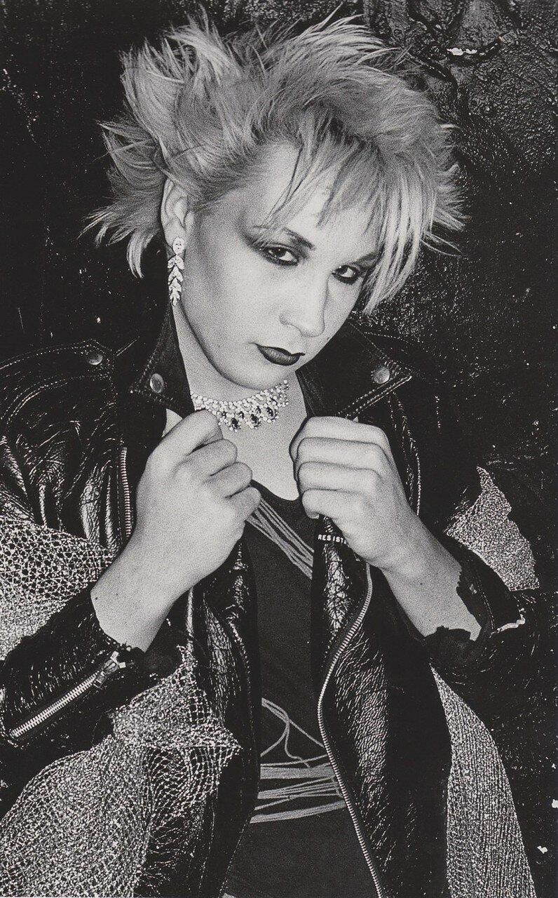 1978. Мэрилин на вечеринке «David Bowie night» в «Billys»