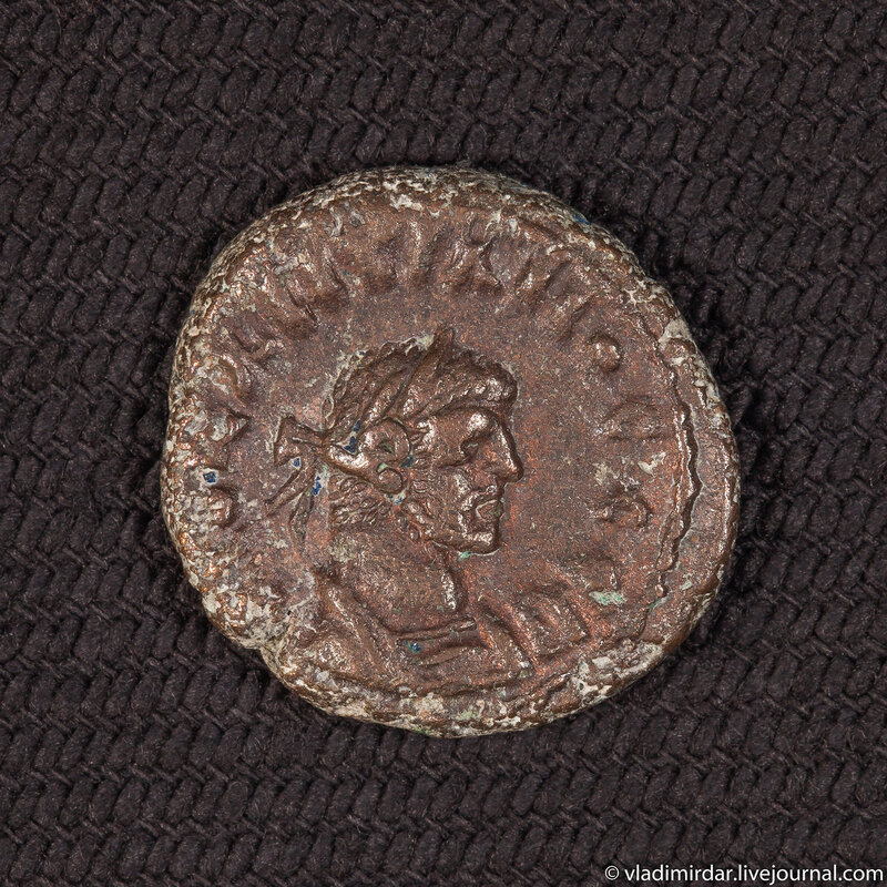 Тетрадрахма. Римская империя. Провинция Египет. Император Диоклетиан.