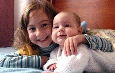 Irina (5 let) i Alena (1 god) Mironenko