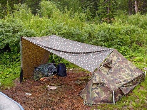 Как в домашних условиях сделать палатку