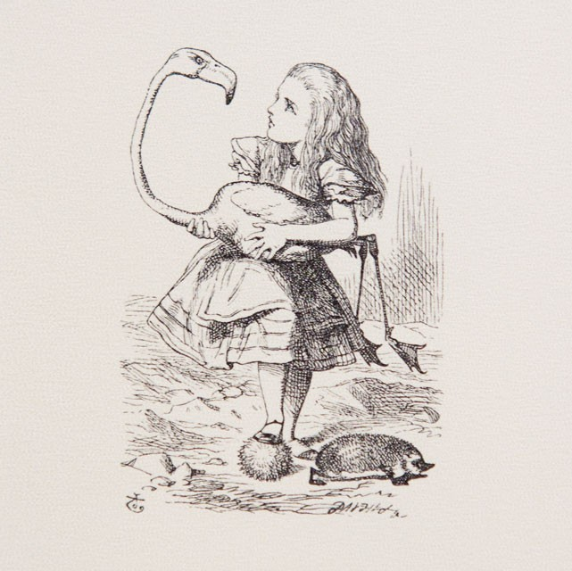 the animals of wonderland tenniel as Alice's adventures in wonderland one of tenniel's illustrations in through the looking-glass — the 1871 the animals of wonderland are of.