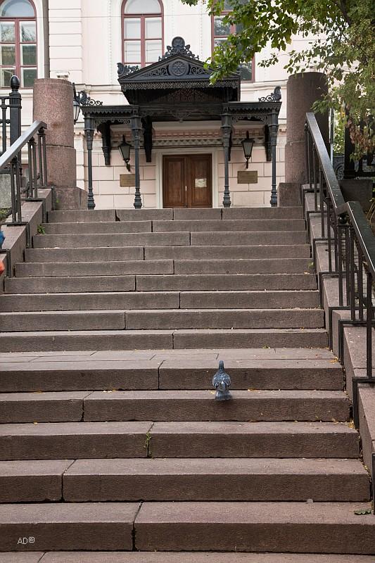 Лестница к Российскому фонду культуры