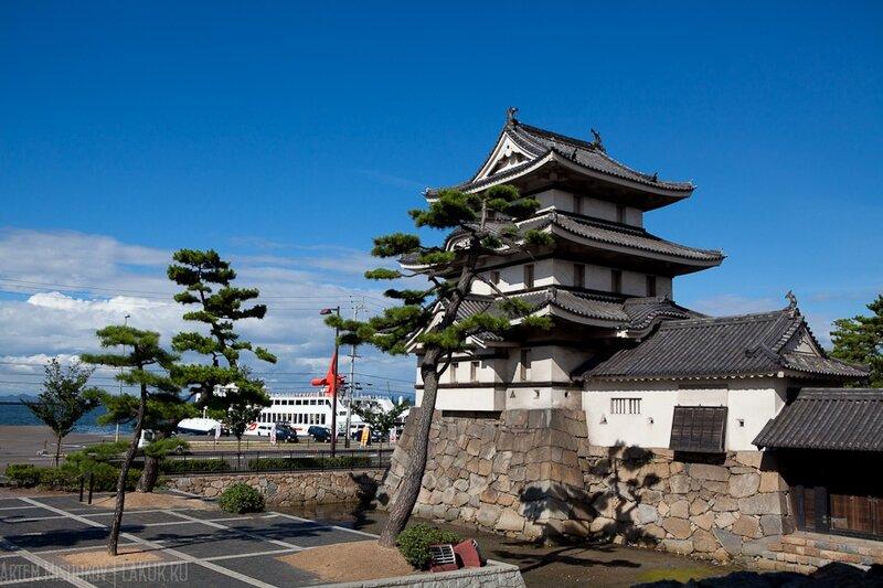 замок такамацу