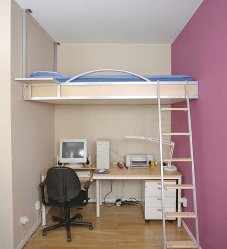 Small Double Bedroom Design Robot Bedroom Accessories Armchair For Bedroom Lace Curtains Bedroom: Интерьер маленькой спальни