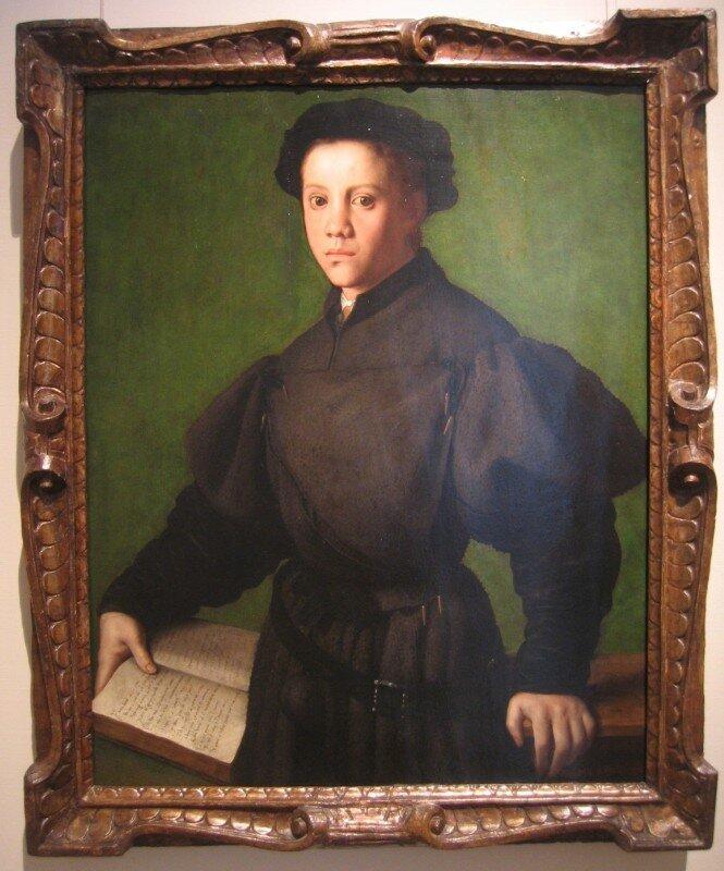 Бронзино. Портрет молодого человека