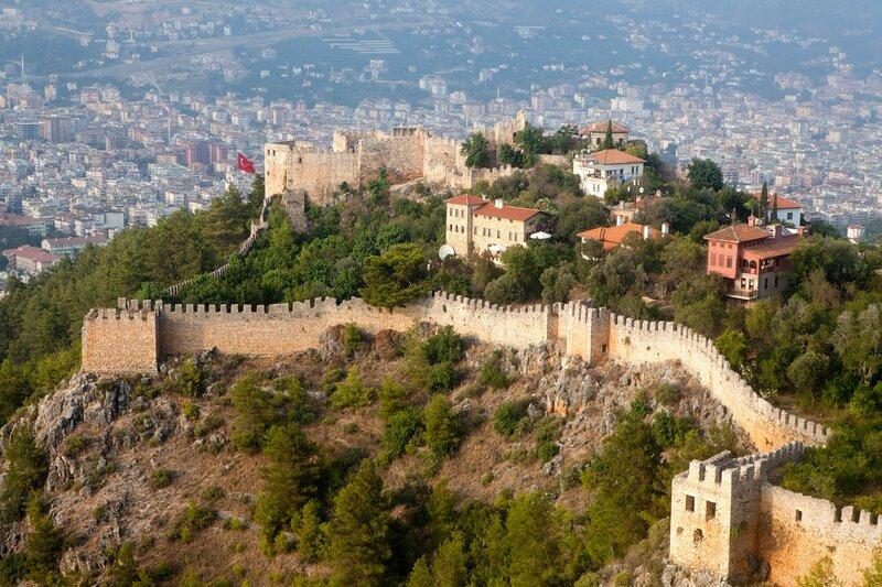 alanya castle view