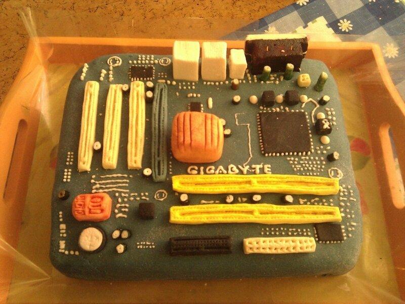 Торт gigabyte