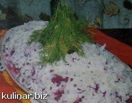 Селедка под «снежной» шубой