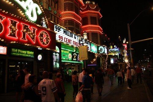 Улицы Лас-Вегаса