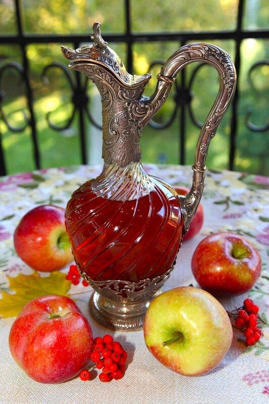 Яблочное вино домашнее