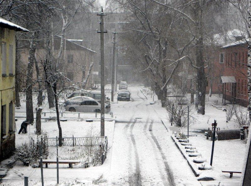 Первый снег 10.11.2010
