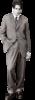 Клипарт на прозрачном фоне мужчины зимой