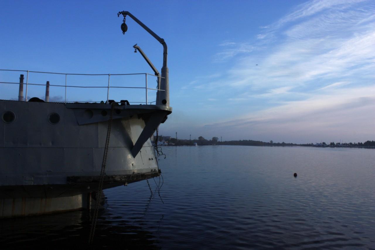 Раннее утро в Приозерской бухте