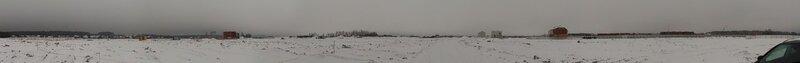 Панорама от участка №256 ЖК Новорижский