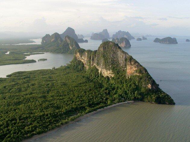 Залив Пханг Нга (Phang Nga Bay)